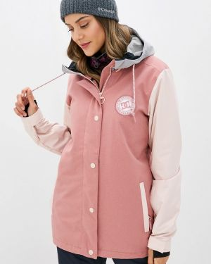Горнолыжная куртка осенняя розовая Dc Shoes