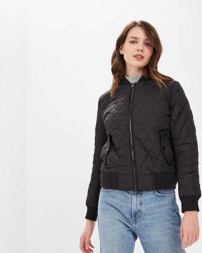 Утепленная куртка черная осенняя Urban Classics
