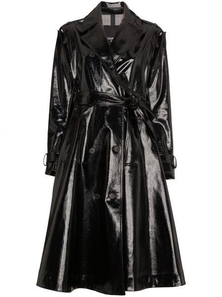 Черный хлопковый тренчкот с подкладкой Calvin Klein 205w39nyc