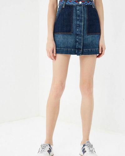 Джинсовая юбка осенняя Tommy Hilfiger