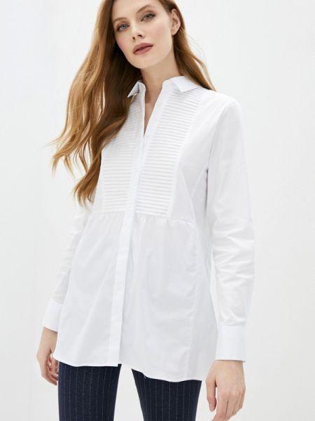 Блузка с длинным рукавом белая весенний Naumi