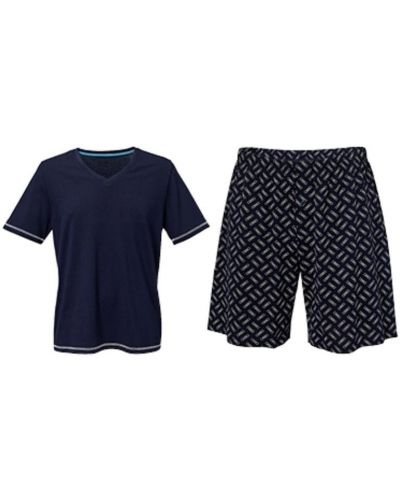 Пижама с шортами - синяя Royal Class