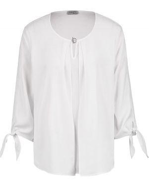 Блузка с длинным рукавом белая Gerry Weber
