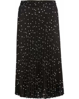 Плиссированная юбка макси леопардовая Bonprix