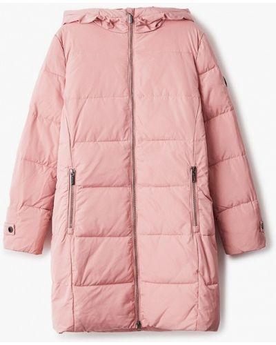 Свободная теплая розовая куртка Finn Flare