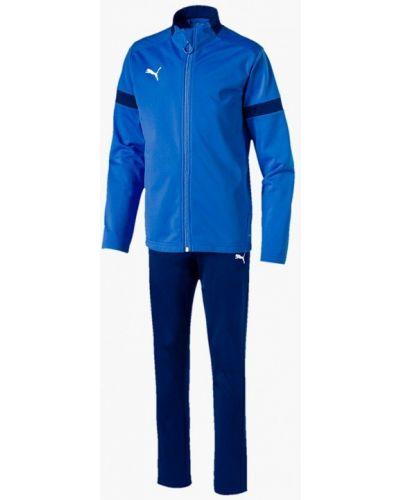 Спортивный костюм синий черный Puma