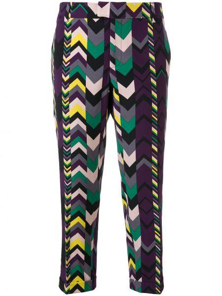 Укороченные брюки винтажные с поясом Missoni Pre-owned