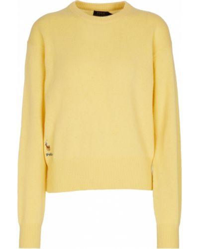 Кашемировый свитер - желтый Polo Ralph Lauren