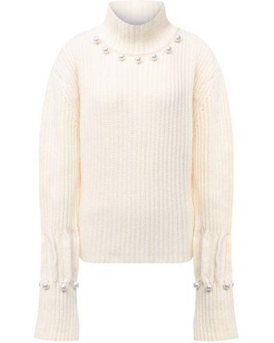 Белый шерстяной свитер Jw Anderson