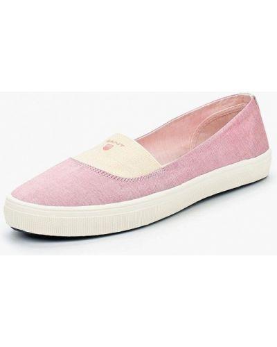 Розовые балетки Gant
