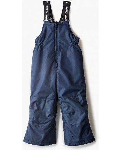 Синие утепленные брюки Gusti