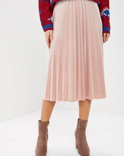 Плиссированная юбка осенняя Befree