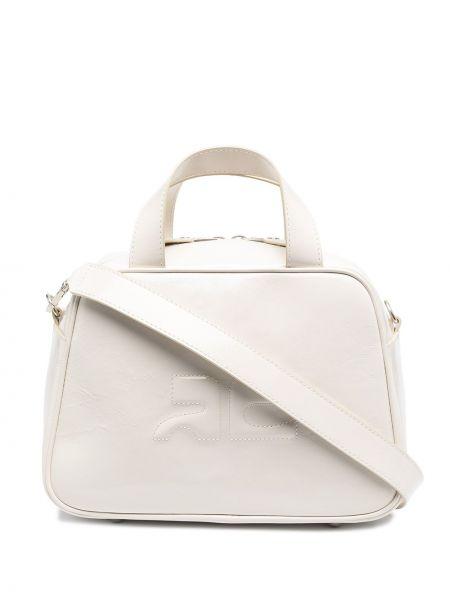 Biała torebka Courreges