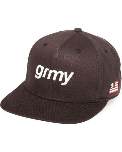 Czarna czapka z daszkiem Grimey