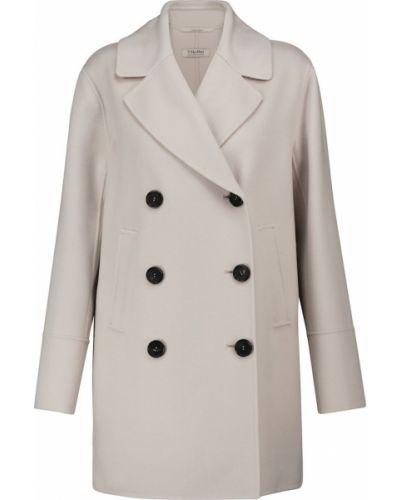 Biała kurtka wełniana S Max Mara