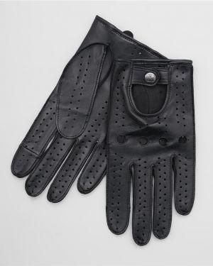 Кожаные перчатки с узором повседневный Henderson