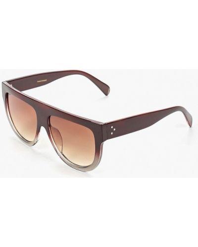 Солнцезащитные очки коричневый итальянский Marco Bonne