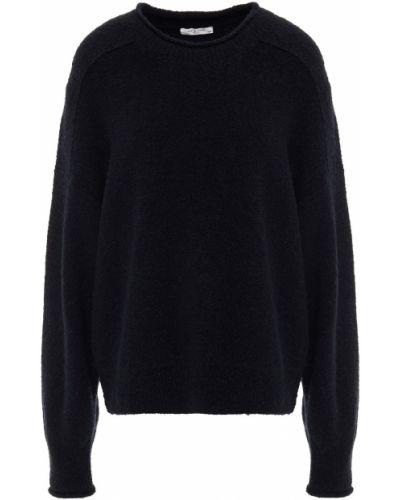 Sweter wełniany - czarny Rag & Bone