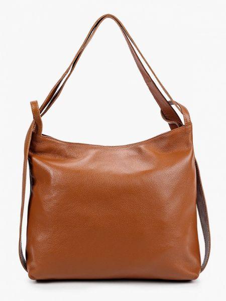 Кожаная сумка - коричневая Pulicati