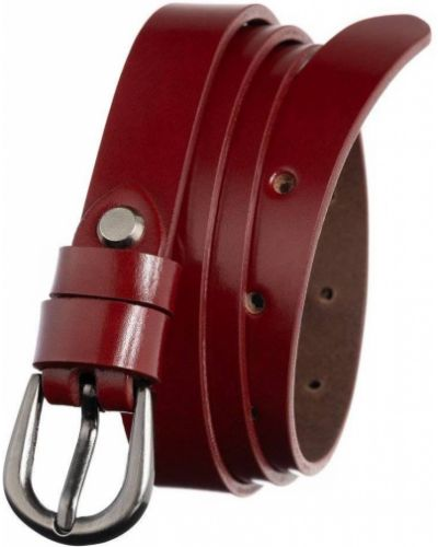Pasek srebrny - czerwony Badura