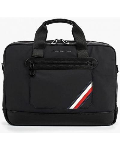 Черная сумка Tommy Hilfiger
