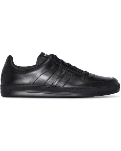 Czarne sneakersy Tom Ford