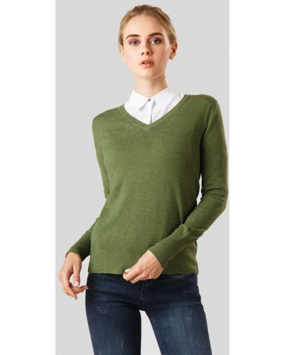 Зеленый пуловер Finn Flare