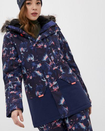 Синяя куртка горнолыжная сноубордическая O`neill