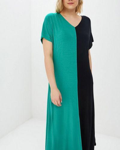 Повседневное платье весеннее зеленый Svesta