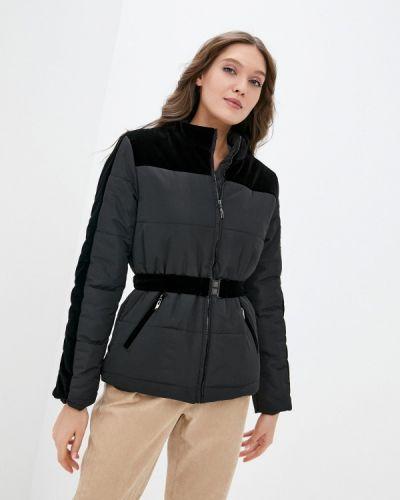 Черная утепленная куртка Self Made