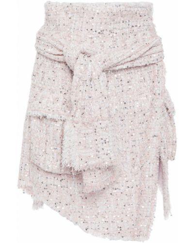 Spódniczka mini - różowa Balmain