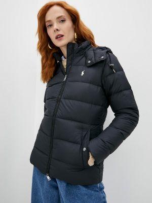 Черная зимняя куртка Polo Ralph Lauren