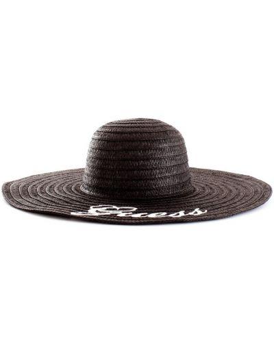 Czarny kapelusz Guess
