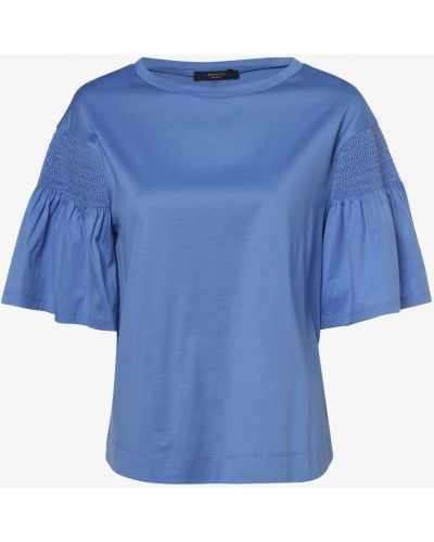 Niebieska t-shirt Weekend Max Mara