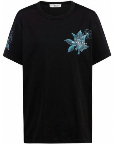 Podkoszulka z printem - czarna Givenchy