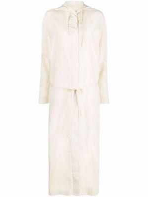 Sukienka długa z długimi rękawami Lemaire