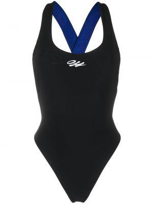 Czarny strój kąpielowy Off-white