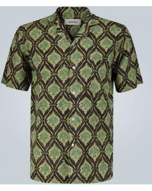Прямая рубашка с воротником Adish