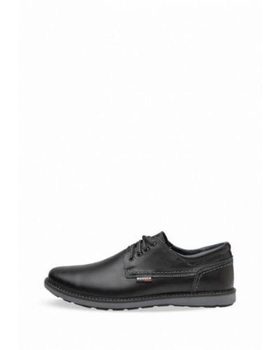 Кожаные туфли - черные Bosser