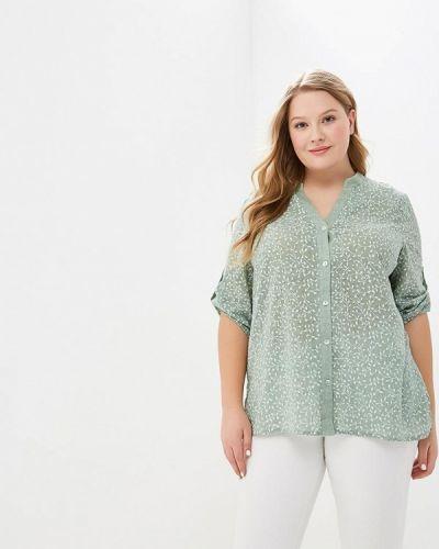 Блузка зеленый Lina