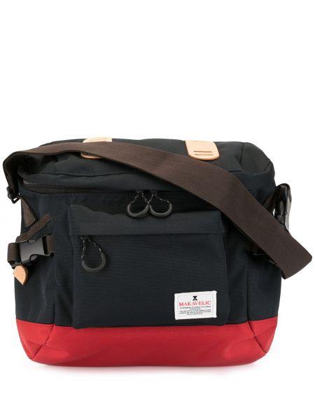 Черная большая сумка Makavelic