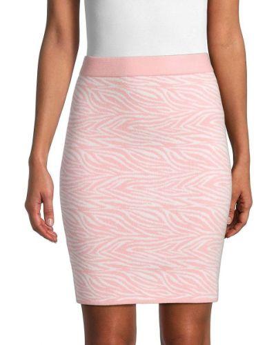 Нейлоновая розовая юбка мини Bcbgeneration