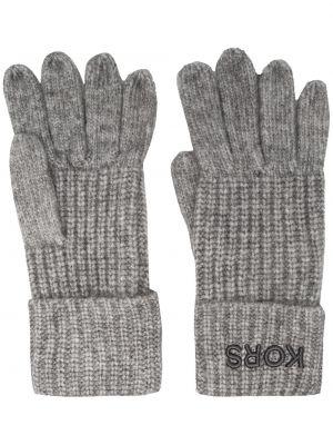 Rękawiczki z haftem z nylonu Michael Kors