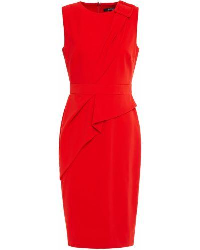 Платье с разрезом Badgley Mischka