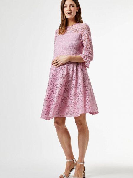 Розовое платье для беременных Dorothy Perkins Maternity