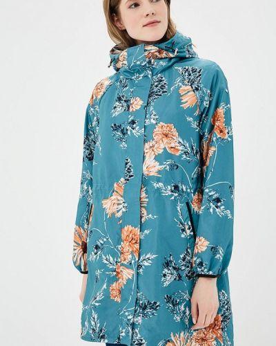 Бирюзовая куртка облегченная Baon