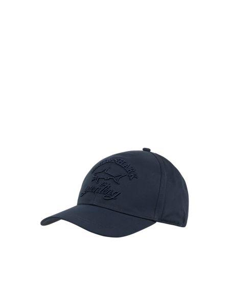 Niebieska czapka bawełniana Paul & Shark