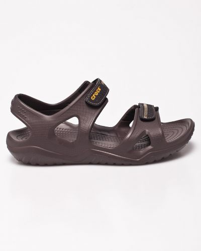 Сандалии темно-коричневый Crocs