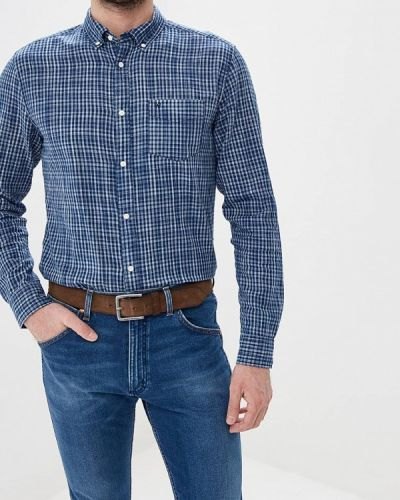 Рубашка с длинным рукавом индийский синий Wrangler