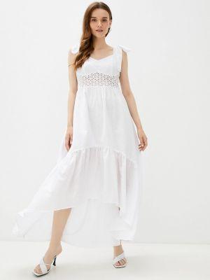 Белое весеннее платье Anastasya Barsukova